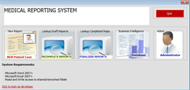 Microsoft Medical Reporting System - Non Enterprise Home Edition | Software | Business | Other