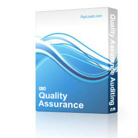 Quality Assurance Auditing Software - Non Enterprise Home Edition | Software | Business | Other