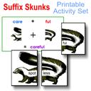 Suffix Skunks Printable Activity Set | eBooks | Children's eBooks