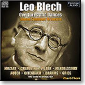 LEO BLECH Overtures and Dances, LSO 1931, mono MP3 | Music | Classical