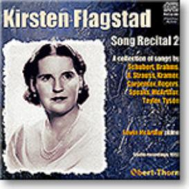 KIRSTEN FLAGSTAD Song Recital 2, 1952, 16-bit Ambient Stereo FLAC | Music | Classical