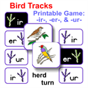 Bird Tracks Printable Phonics Game | eBooks | Children's eBooks