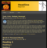 Halloween Website Templates Package 1 | Photos and Images | Entertainment