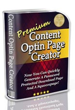 Premium Content Optin Page Creator | Documents and Forms | Other Forms