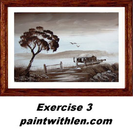 3 paint a cottage