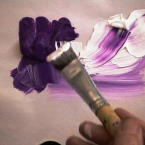 Second Additional product image for - 6 Paint in Violet