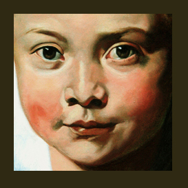 painting clara serena - painting portraits in oil