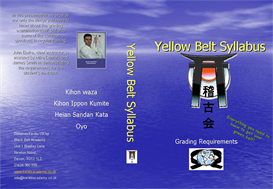 yellow belt syllabus