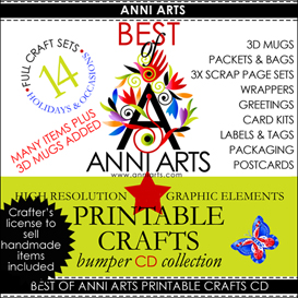 CD-Best of Anni Arts | Crafting | Paper Crafting | Other