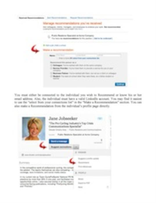 First Additional product image for - How to Give - - and Get - - LinkedIn Recommendations (Pass-Along Materials)