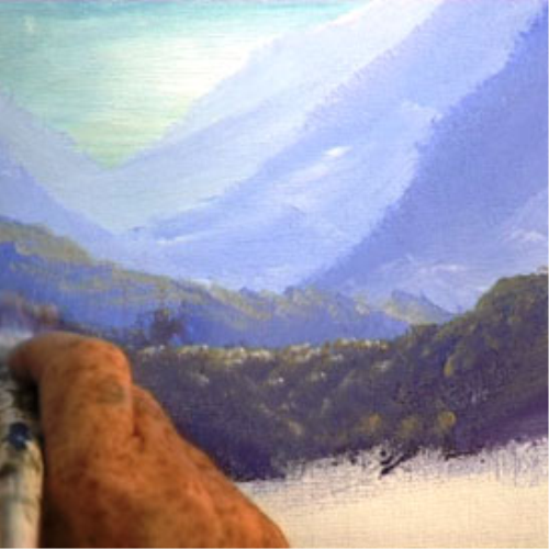 Second Additional product image for - 14 Paint Rugged Mountains