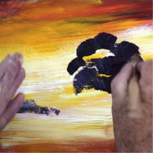 Second Additional product image for - 17 Paint a Sunset.