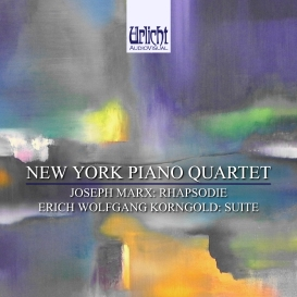 The New York Piano Quartet Plays Marx & Korngold (HD FLAC, 96k/24bit) | Music | Classical