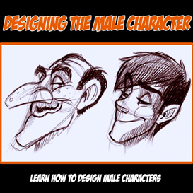 designing slim male characters