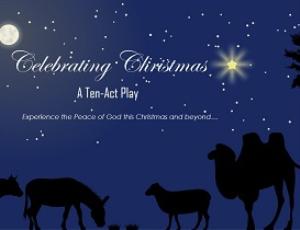 celebrating christmas - enjoying god's peace