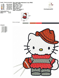Hello Kitty Halloween | Crafting | Sewing | Other
