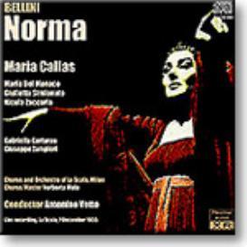 BELLINI Norma - Callas, Del Monaco, La Scala, Votto, 1955, 16-bit Ambient Stereo FLAC | Music | Classical