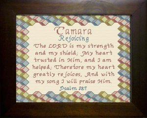 Name Blessings -  Tamara 2 | Crafting | Cross-Stitch | Religious