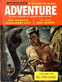 adventure magazine, august 1957 (complete issue)