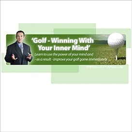 Elliott Wald - Golf Winning with your Inner Mind Hypnosis MP3 | Audio Books | Self-help