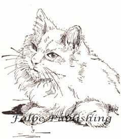 Vintage black and white cat illustration | Photos and Images | Animals