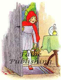 Little Red Riding Hood vintage fairy tales illustration | Photos and Images | Vintage