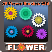 Flower Brushes CS5 | Other Files | Graphics
