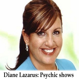 Diane Lazarus: Psychic Show Lyric 18.9.12 | Movies and Videos | Special Interest