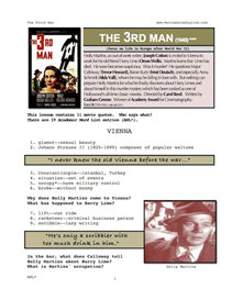 THIRD MAN, Whole-Movie English (ESL) Lesson | eBooks | Education
