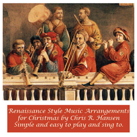 in dulci jubilo (Good Christian Men Rejoice) Renaissance music style for strings, flutes, keys and voice | Music | Classical