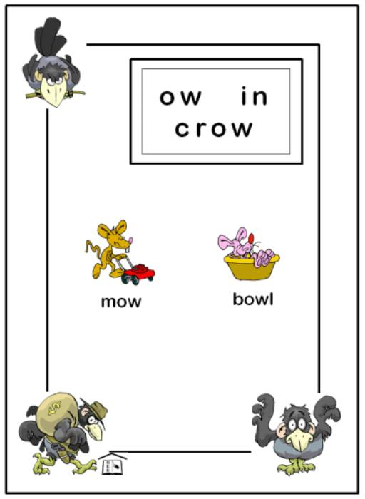 First Additional product image for - Crow Town Printable Phonics Activity
