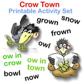 Crow Town Printable Phonics Activity | eBooks | Children's eBooks