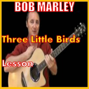 learn to play three little birds by bob marley