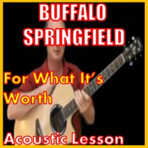 learn to play for what its worth by buffalo springfield