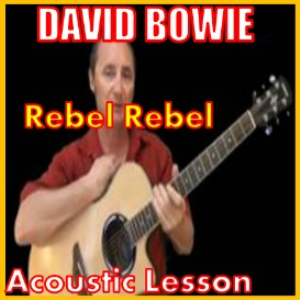 Learn to play Rebel Rebel by David Bowie | Movies and Videos | Educational
