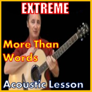 Learn to play More Than Words by Extreme | Movies and Videos | Educational