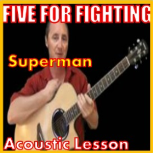 Learn to play Superman by Five For Fighting | Movies and Videos | Educational