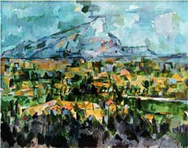 Mont Sainte-Victoire by Paul Cezanne high resolution stock art | Photos and Images | Fine Art