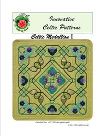 Celtic Medallion I applique pattern | Crafting | Sewing | Quilting
