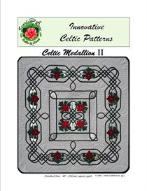 Celtic Medallion II applique pattern | Crafting | Sewing | Quilting