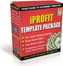 iProfit Template Package | Software | Design Templates