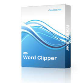 Word Clipper | Software | Add-Ons and Plug-ins