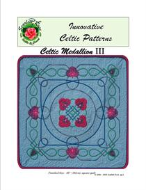 Celtic Medallion III applique pattern | Crafting | Sewing | Other