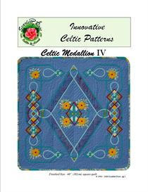 Celtic Medallion IV applique pattern | Crafting | Sewing | Quilting