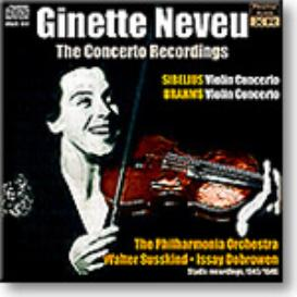 GINETTE NEVEU The Concerto Recordings, Ambient Stereo 24-bit FLAC | Music | Classical