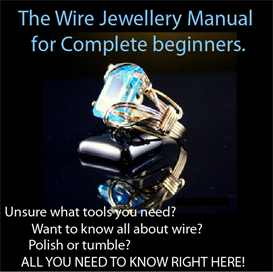 The Wire Jewellery Manual for complete beginners. | eBooks | Arts and Crafts