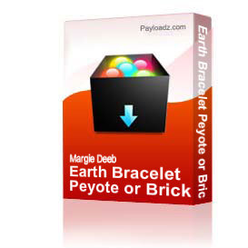 Earth Bracelet Peyote or Brick Stitch PDF | Other Files | Everything Else