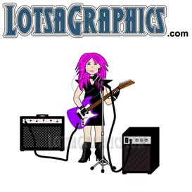 rockin rachael clipart download