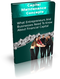 Capital Maintenance Concepts | eBooks | Finance