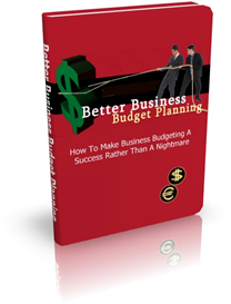 Better Business Budget Planning | eBooks | Business and Money